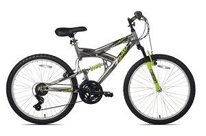 Northwoods Aluminum-Full-Suspension-Mountain-Bike