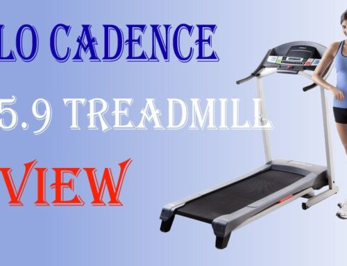 Weslo Cadence G 5.9 Treadmill Ultimate Buying Guide